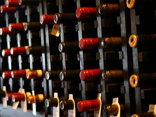 The Other Side Bistro features an eclectic mix of wines