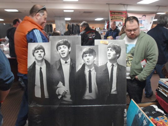 The Fest For Beatles Fans 2008 held at the Crowne Plaza Hotel in Secaucus featured memorabilia of every sort, artwork, photos,and buttons, and more.