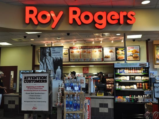 Roy Rogers, located at the North Somerset turnpike rest stop.