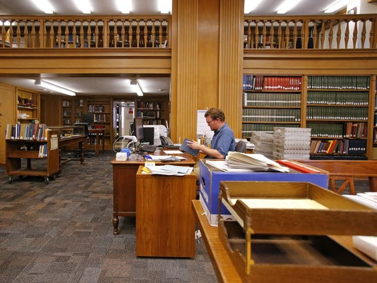 genealogy library
