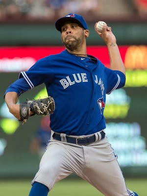 David Price joined the Blue Jays at the trade deadline.