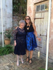 Pam Sherman, right, with her mother, Sharon Weinstein.