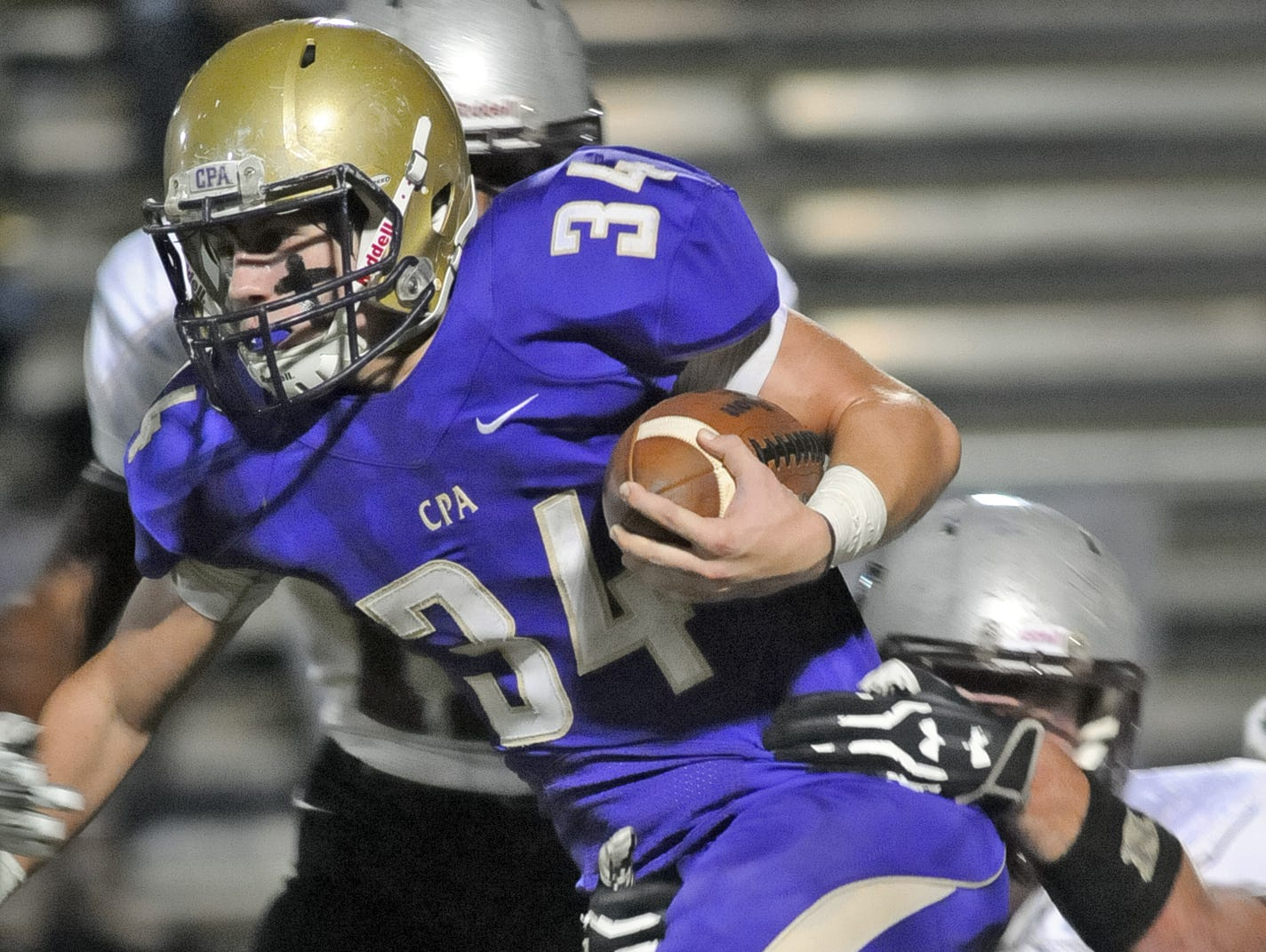 Senior running back James Deaton is hoping to help Christ Presbyterian Academy to its fourth consecutive appearance in the state championship game.