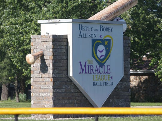 The Betty and Bobby Allison Miracle League Field serves