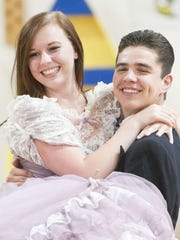 Olivia Lutterman, who plays Mrs. Tottendale, and Cole