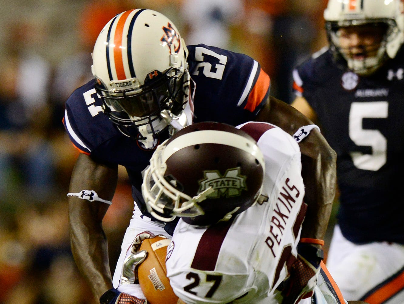 Robenson Therezie is not listed on Auburn's two-deep depth chart.