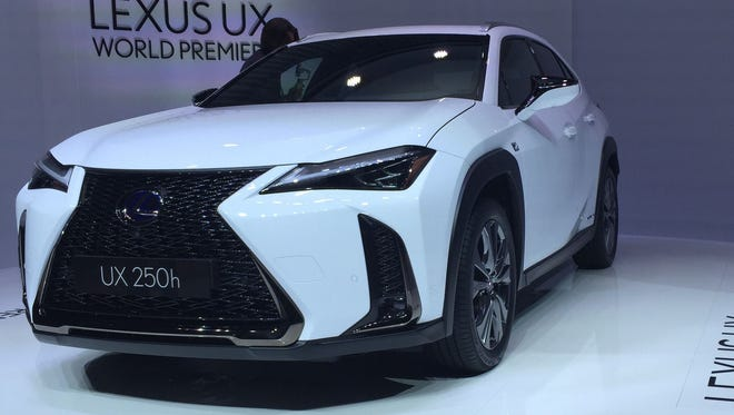 Lexus UX gets its Geneva premiere