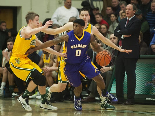 Albany vs. Vermont Men's Basketball 01/28/15