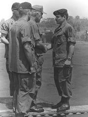 U.S Army Gen. Creighton Abrams, the U.S. commander
