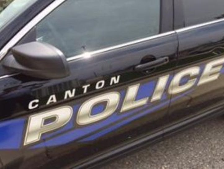 Canton police say a 5-year-old girl drove a golf cart
