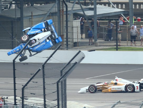 May 28, 2017; Indianapolis, IN, USA; IndyCar Series