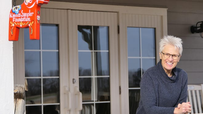Marci Penner, director of Kansas Sampler Foundation, March 2020.