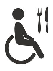 A reader says some restaurants can be difficult to navigate in a wheelchair.