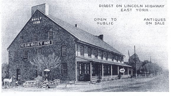 Jim Druck shared this image of Ye Olde Valley Inn, enlarged from a postcard. DAILY RECORD/SUNDAY NEWS - SUBMITTED