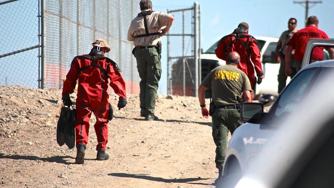 Imperial County Sheriff's Department deputies and the Riverside County Sheriff's Department Dive Team retrieved a child's body from the Coachella Canal on Thursday.