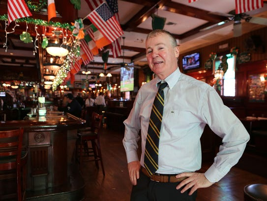 Rory Dolan is pictured at his establishment, Rory Dolan's