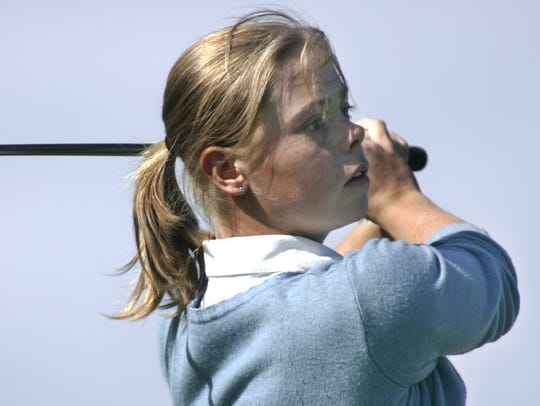 Purdue women's golf team member Christel Boeljon.