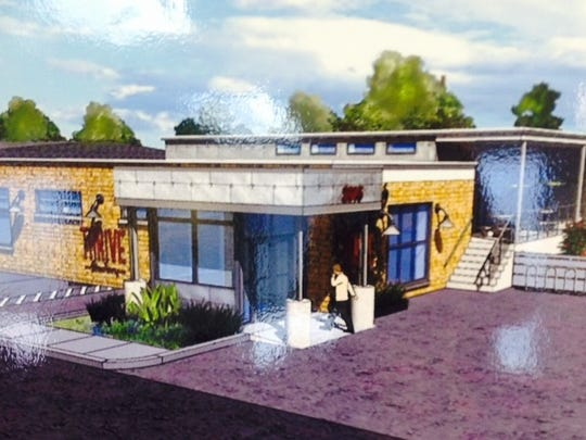 A concept drawing of the planned Thrive Eatery restaurant in Wausau.