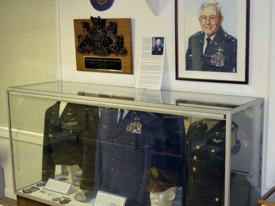 The display honors Maj. Gen. Frank Smoker Jr., who founded the Pennsylvania National Guard Museum at Fort Indiantown Gap.