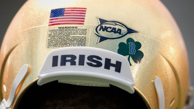 Is Notre Dame's helmet the best in college football?