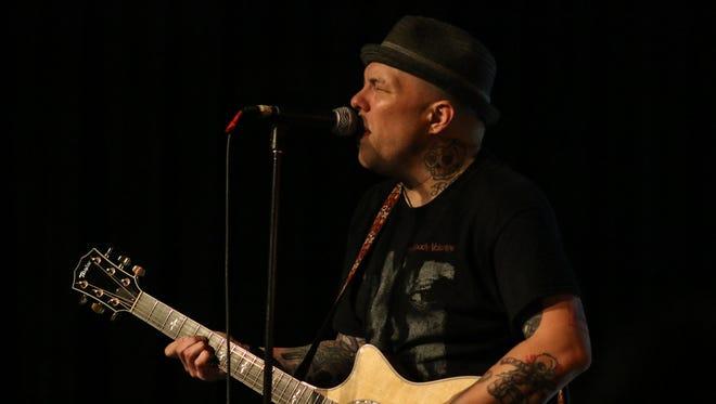 Kris Roe of The Ataris headlines the Acoustic Punk Rock BBQ at Vinyl Music Hall Sunday night.