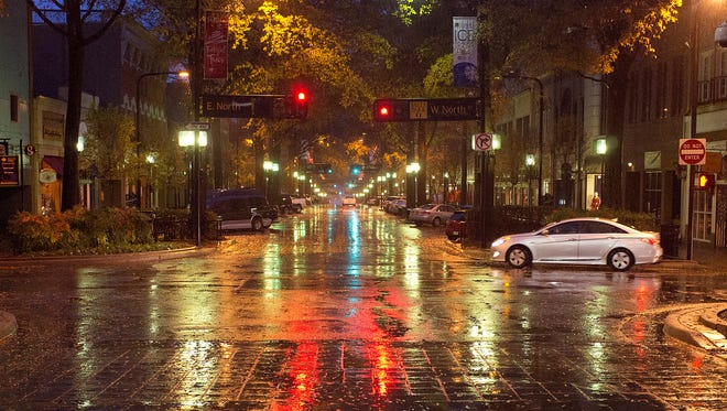 Rainy weather is forecast for most of November.
