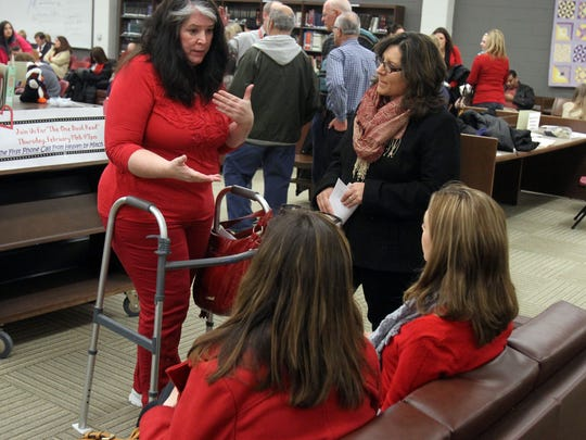 Wednesday night's Monroe Board of Education meeting, during which parents asked the school district to support their refusal to take the controversial PARCC standardized school test.