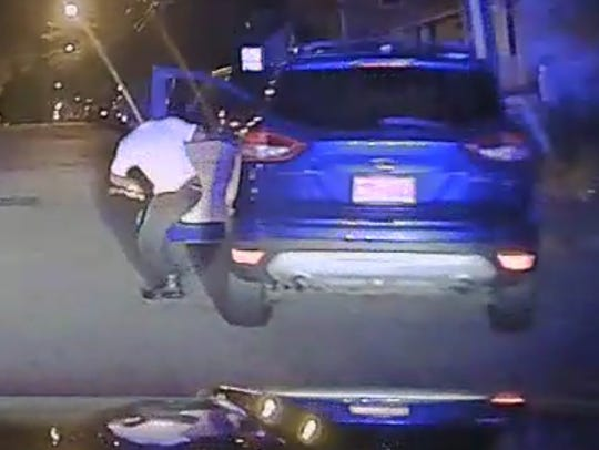 Passaic County Sheriff's Department footage shows Javar