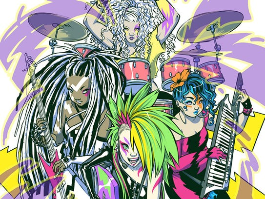 """Jem"" artist Sophie Campbell actively hated the Misfits"