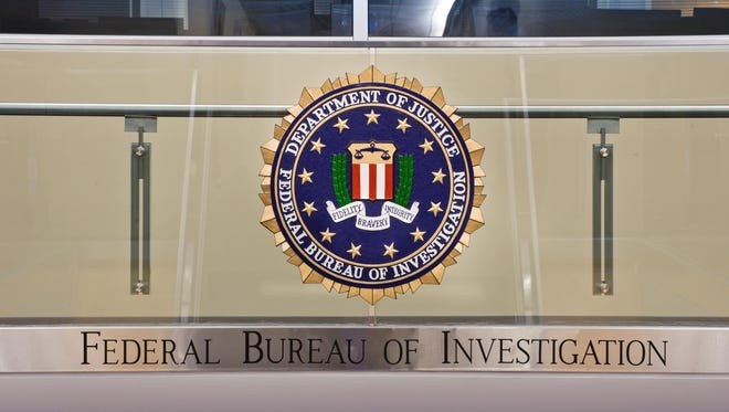 Close up of a seal inside the Strategic Information and Operations Center at FBI Headquarters in Washington, D.C., according to the FBI.