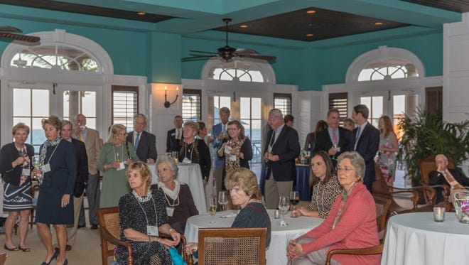 Donors were honored at Orchid Island Beach Club.