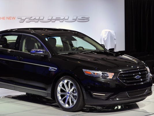 2013 Taurus at the 2011 New York International Auto Show