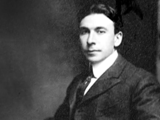 Booth Tarkington, American novelist and dramatist, was often a guest at the Parry home in Golden Hill.