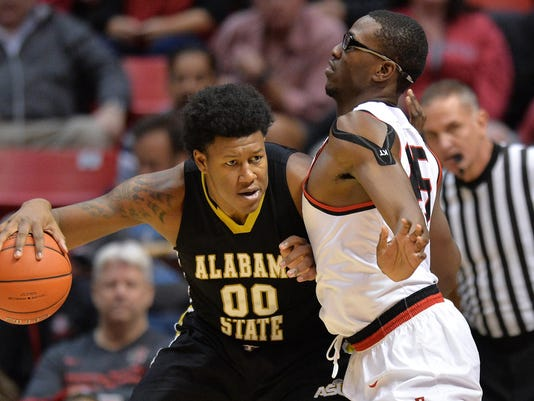 NCAA Basketball: Alabama State at San Diego State