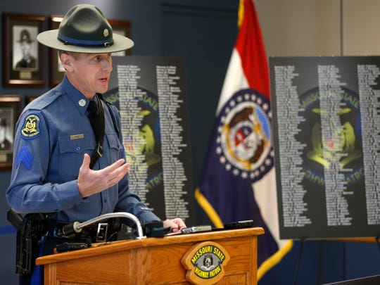 Missouri State Highway Patrol Sgt. Jason Pace
