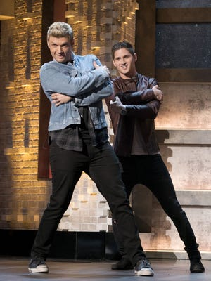 Nick Carter and Andrew Bloom on 'Boy Band.'