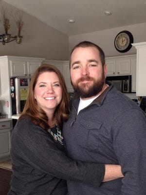 Melissa and Burke Allen are both former star high school athletes in Great Falls. Their family includes two daughters.