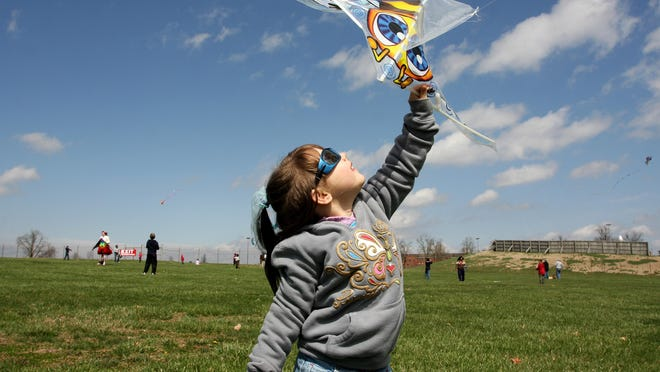 The Cherry Blossom Kite & Pinata Festival is Saturday. You can bring your own or build one from a kit for $5.