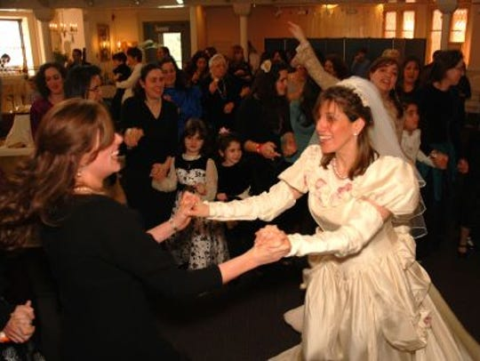 Ellen Brody plays the bride in a  portrayal of a traditional