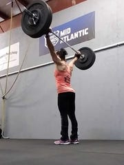 Liza Marquette is the co-owner of the Iron Strong CrossFit gym in Salisbury, Maryland.