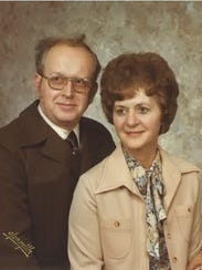 Alyce Wadin and her husband, Keith, met at a dance