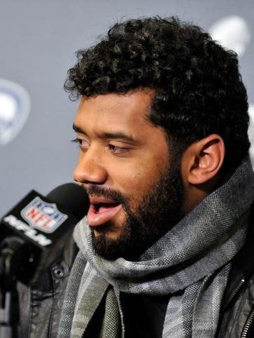 Seattle Seahawks quarterback Russell Wilson said he