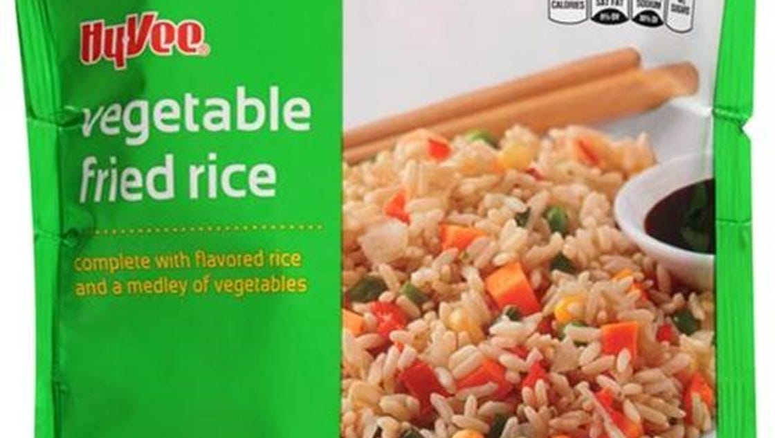 Hy-Vee recalls frozen fried rice products