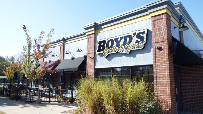 Boyd's Grille & Spirits opened earlier this month in the same location were Bob's Your Uncle was.