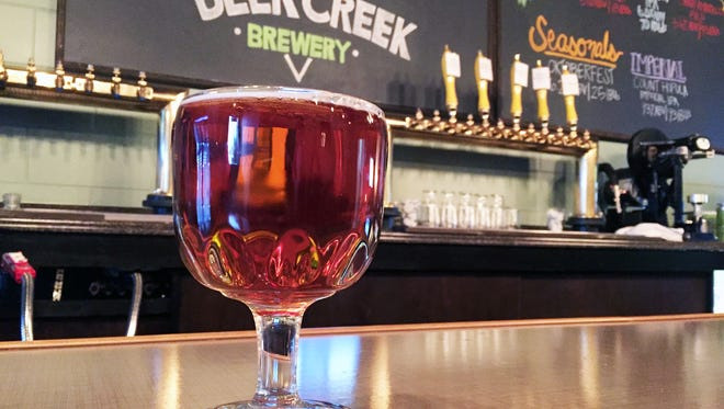 The Count Hopula Imperial IPA at Deer Creek Brewery in Noblesville.