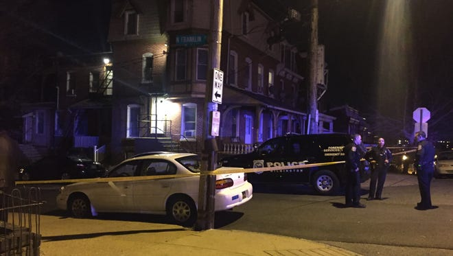 Wilmington Police were investigating a shooting Monday night near Tilton Park.