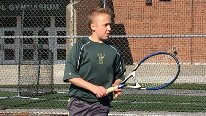 Five months after being operated on for 12 hours to receive a new liver in Pittsburgh, Rush-Henrietta senior Landon Brice has had a solid senior season in tennis.
