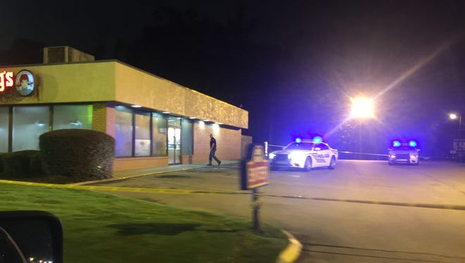 Hattiesburg police investigate an attempted armed robbery Thursday at Wendy's on Hardy Street.