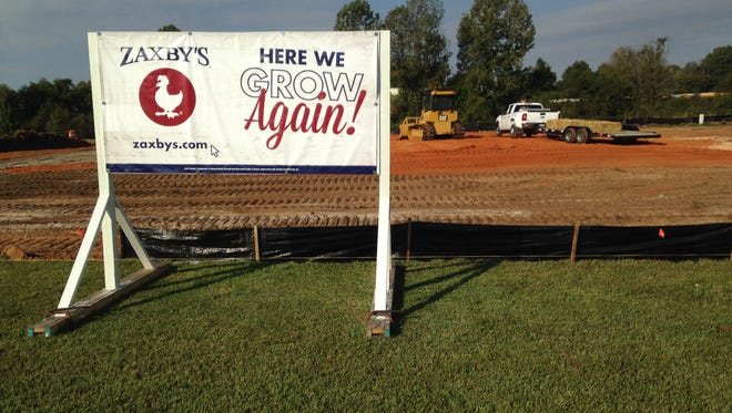A third Zaxby's location in Jackson is scheduled for 1543 S. Highland Ave.