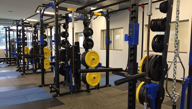 The new Madeira High School athletic center includes all new equipment.